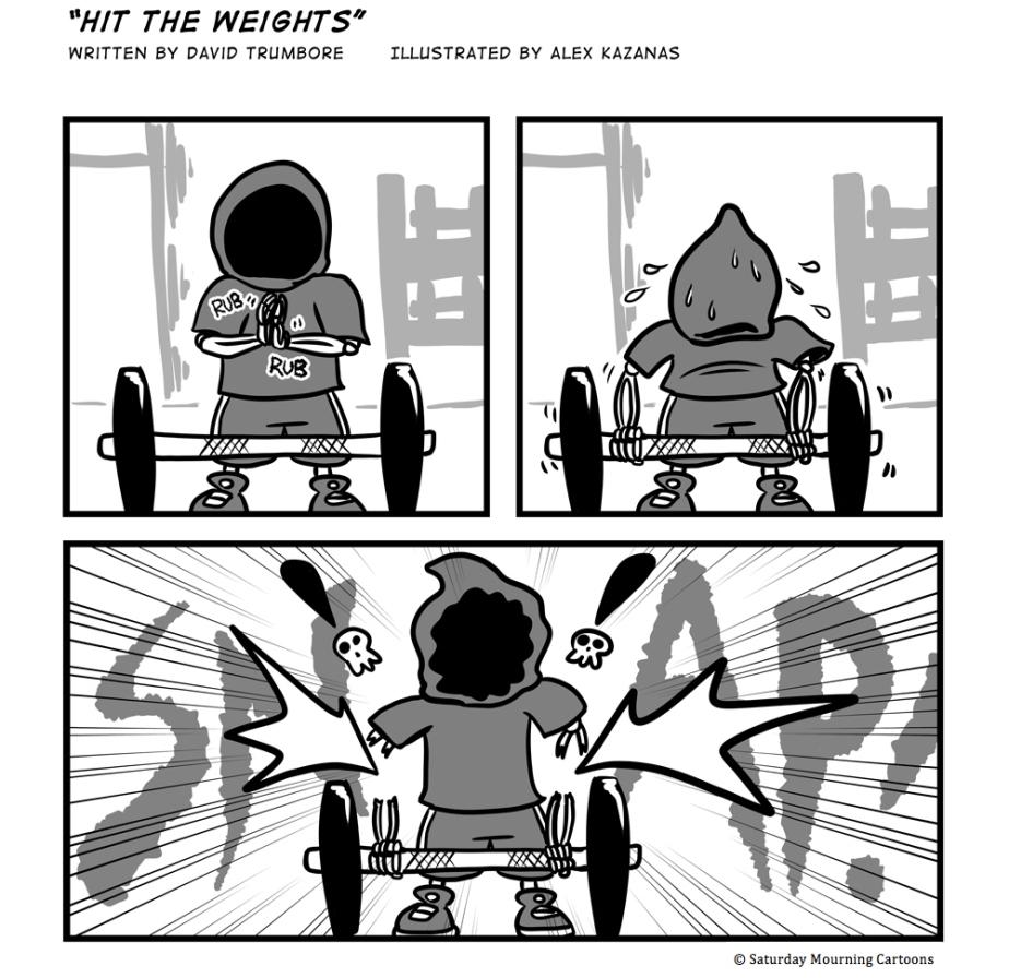 Death Jr. Comics 009 - Hit the Weights