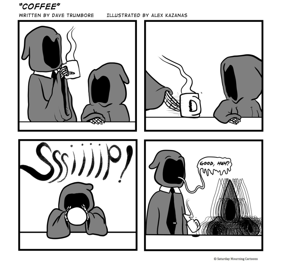 Death Jr Comics 011 - Coffee