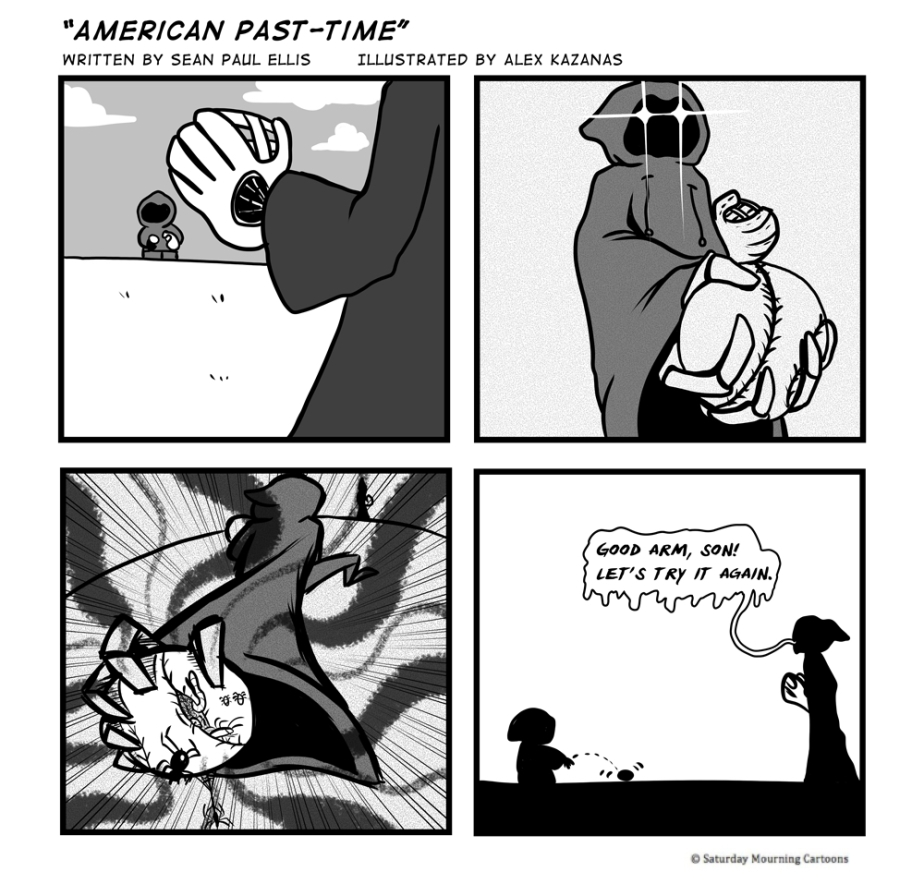 Death Jr. Comics - American Past-Time