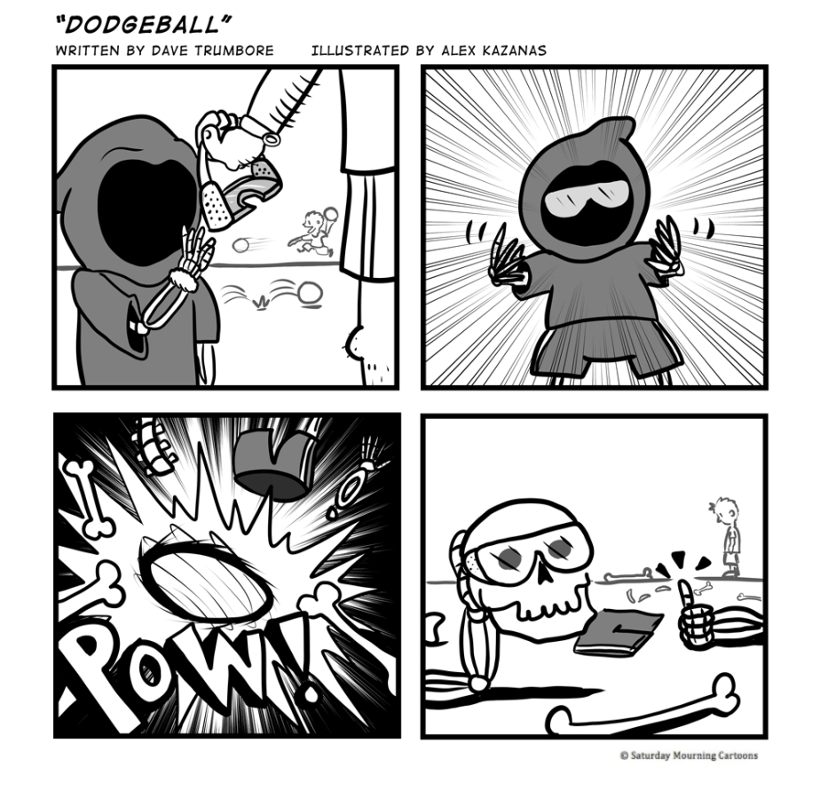 Death Jr. Comics 014 - Dodgeball