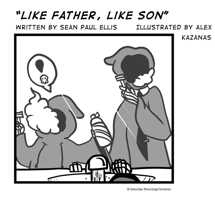 Death Jr. Comics 015 - Like Father, Like Son