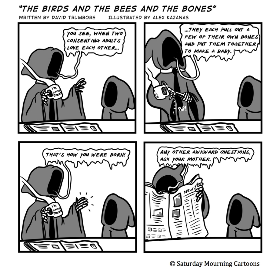 Death Jr. Comics - 022 - The Birds and the Bees and the Bones