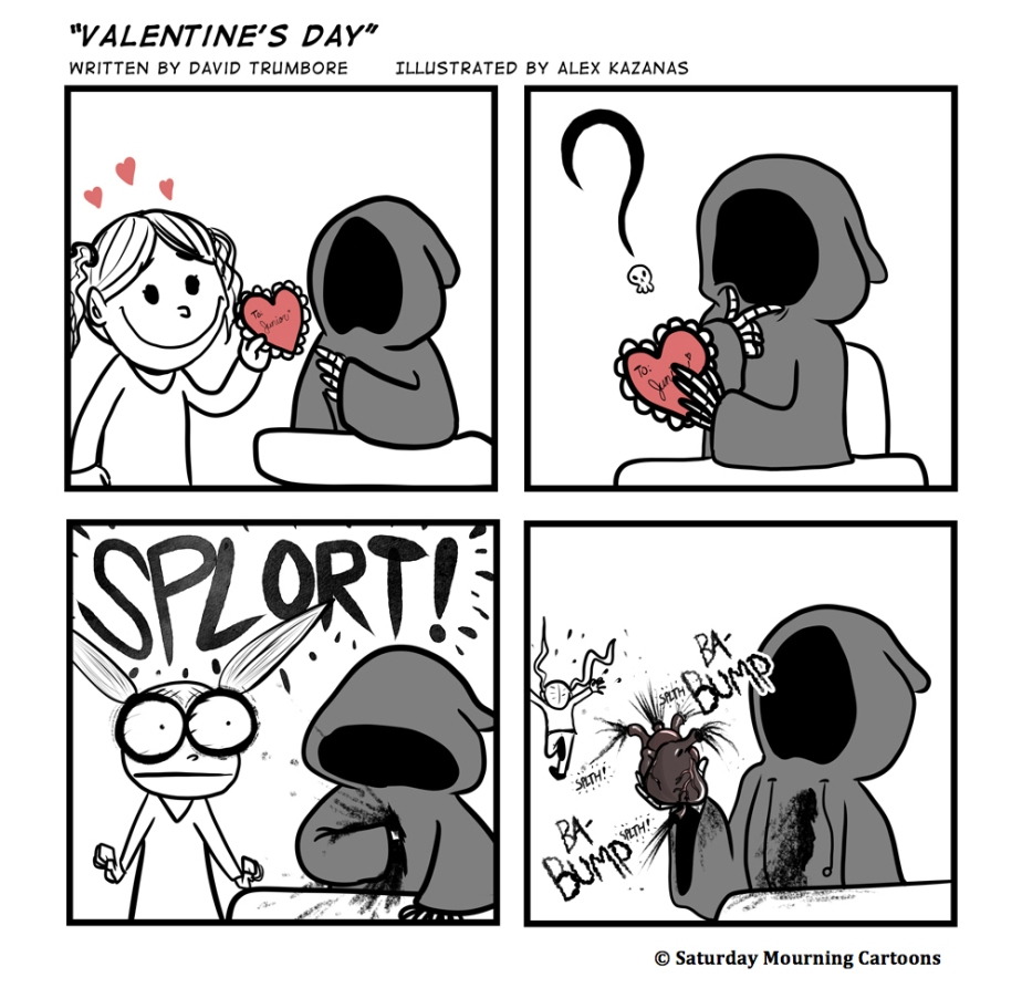 Death Jr. Comics - Valentine's Day